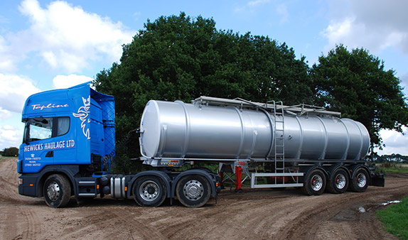 Cave Haulage Tanker